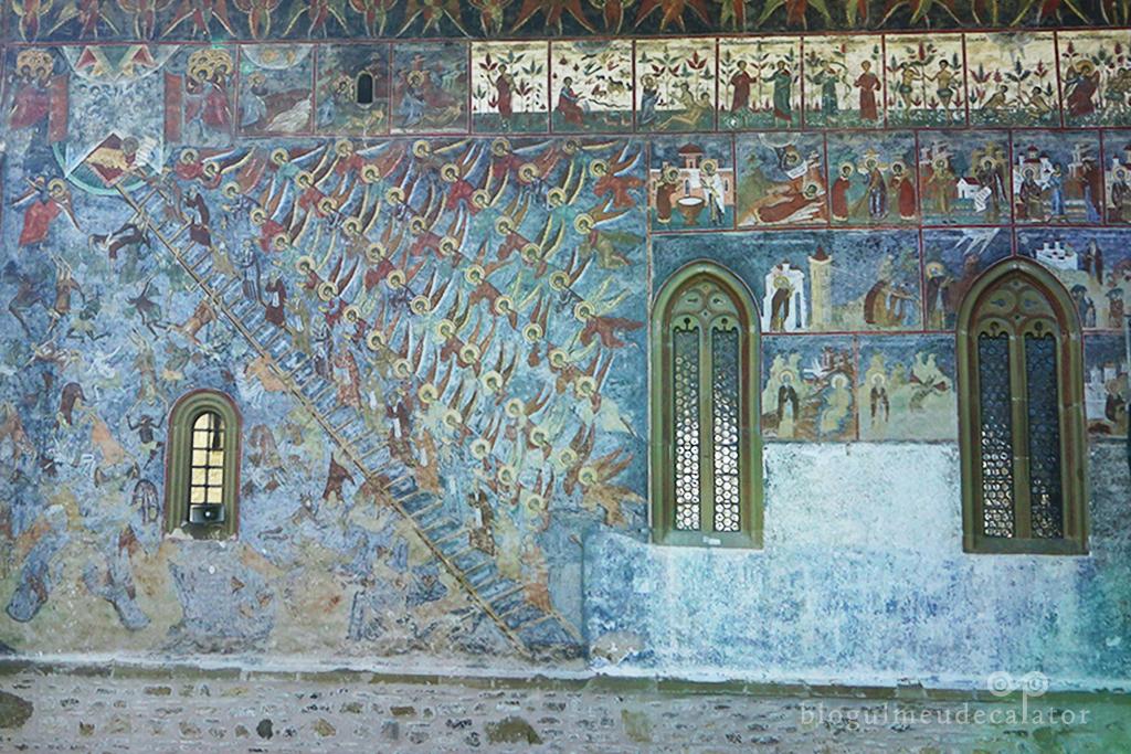 manastirea Sucevita-Scara Virtutilor