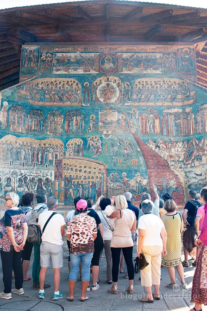 Manastirea Voronet-locuri de vizitat in bucovina
