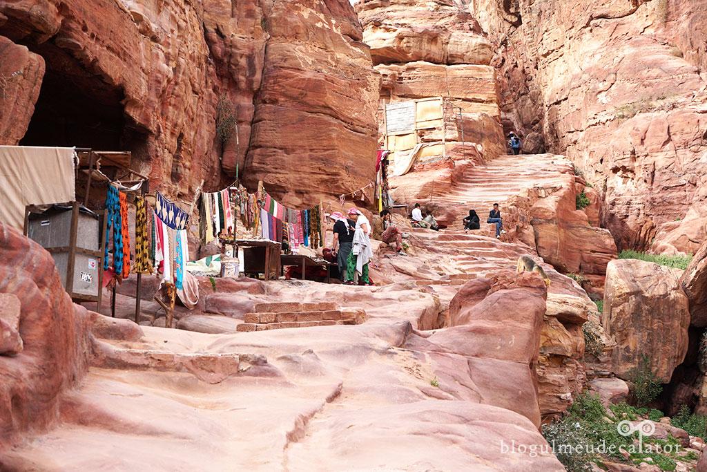 Petra Iordania Monastery Trail