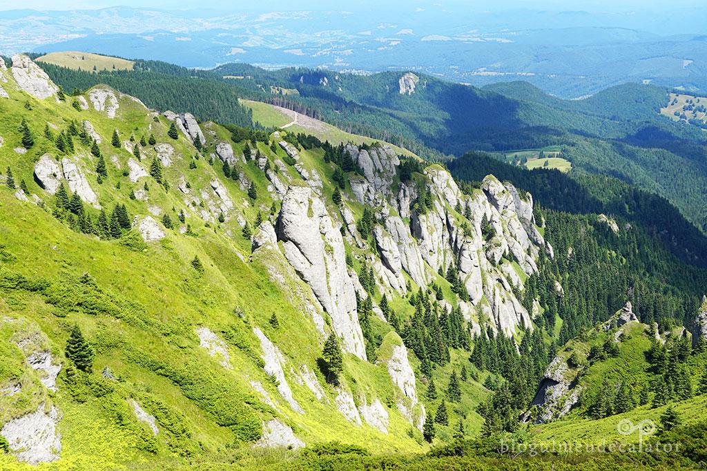 priveliste in muntii Ciucas