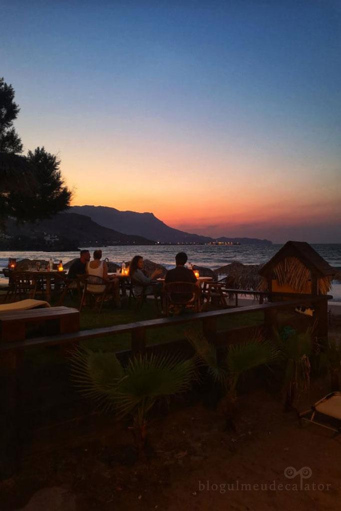 restaurantul Maria Beach Restaurant in Kisssamos
